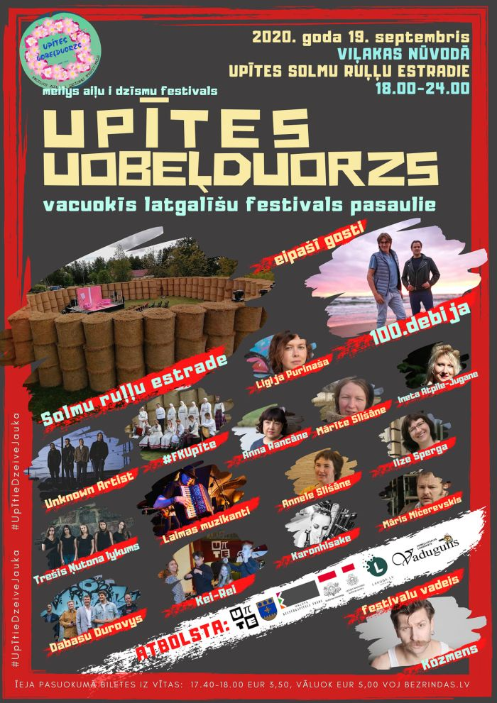"Festivals ""Upītes uobeļduorzs"" @ Viļakys nūvoda Upīte"