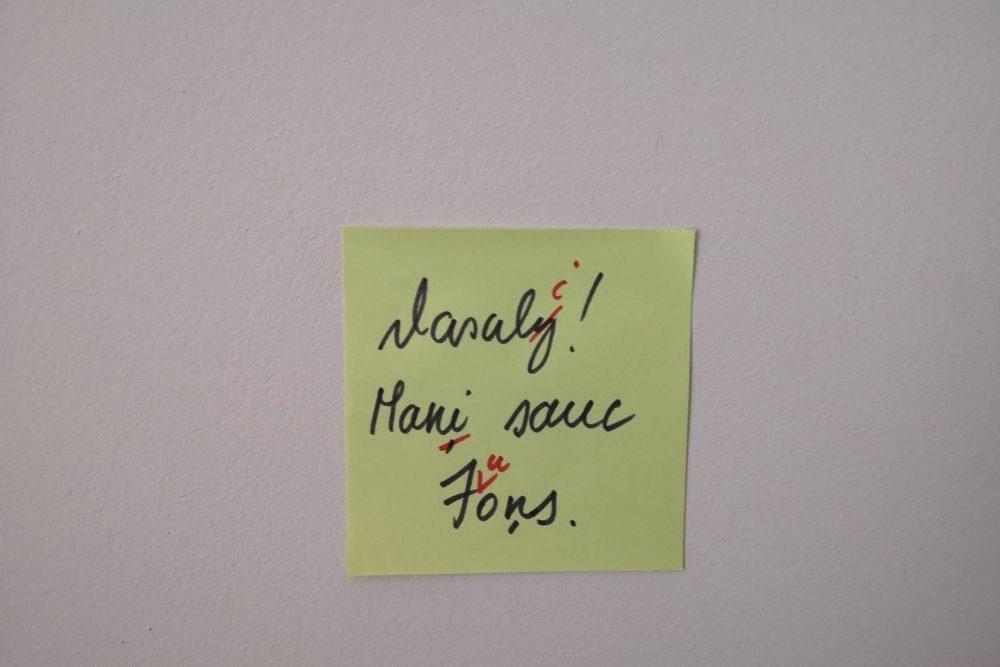 Raksteits latgaliski – ar klaidom