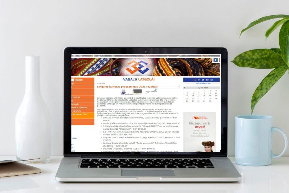 Zynomi Latgolys kulturys programys 2021 projektu konkursa rezultati