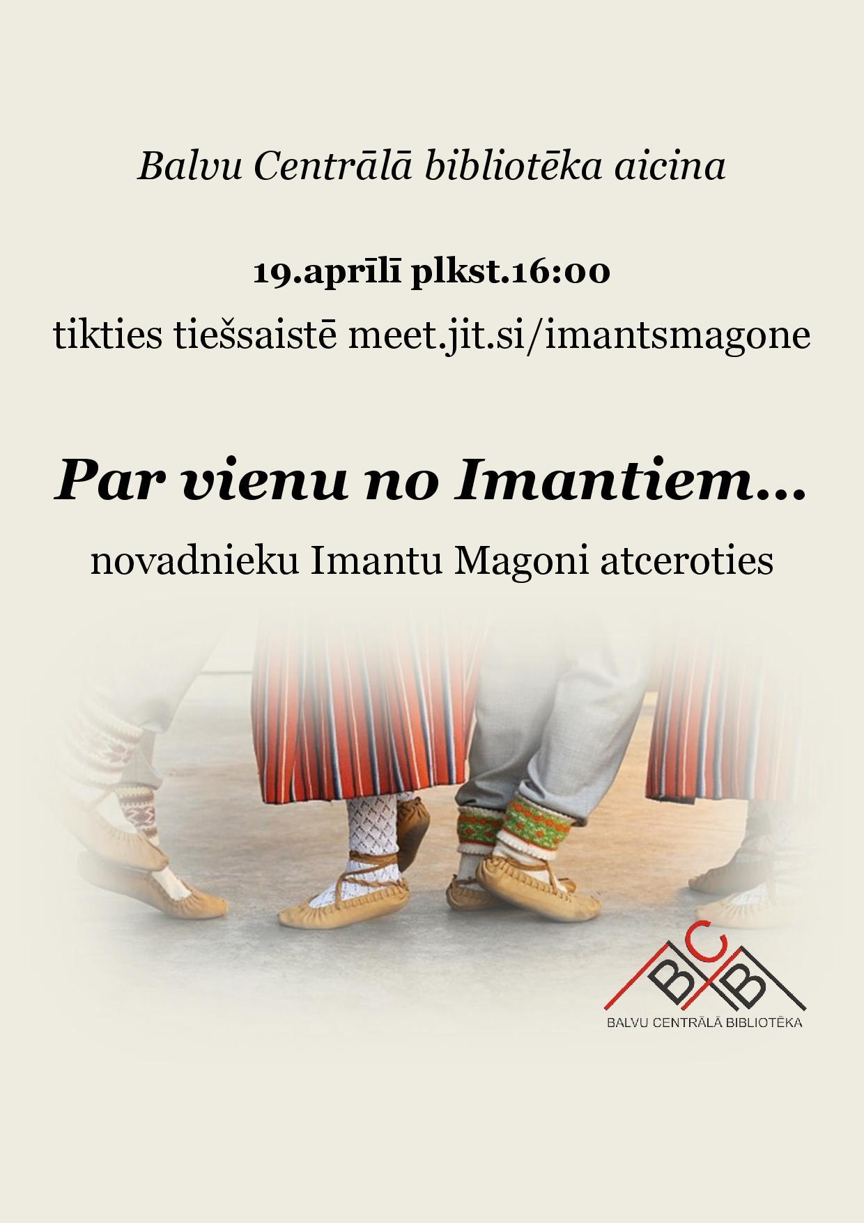 Imanta Magones atceris pasuokums @ Tīšsaitē