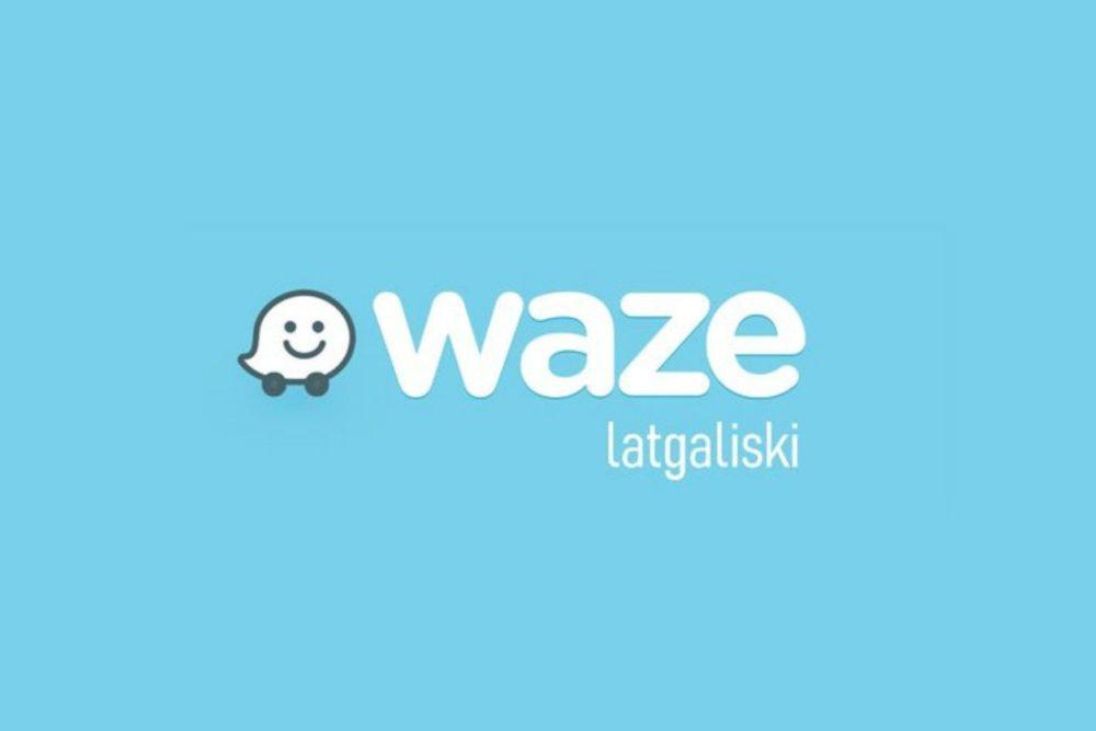 """Pavysam dreiž programā """"Waze"""" byus daīmama latgalīšu volūda"""