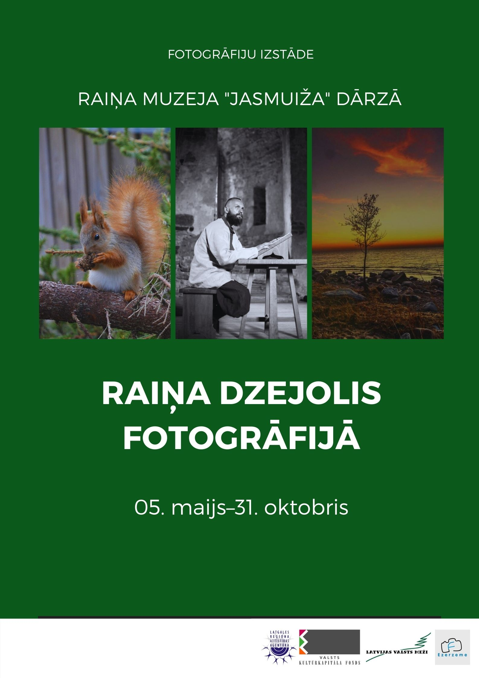 """Foto izstuode """"Raiņa dzejolis fotogrāfijā"""" @ Raiņa muzejs """"Jasmuiža"""""""