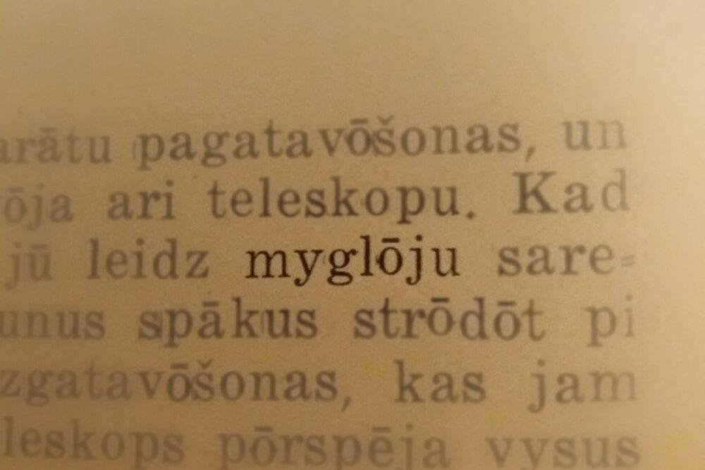 """""""koč autors pazuds bez viests."""" Saruna ar dzejnīku mygluoju"""