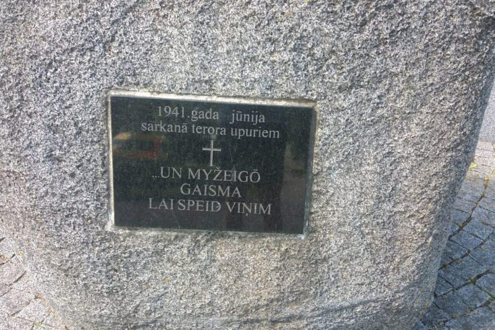 14. juņa izvesšonu 80 godu atceris pasuokumi Latgolā