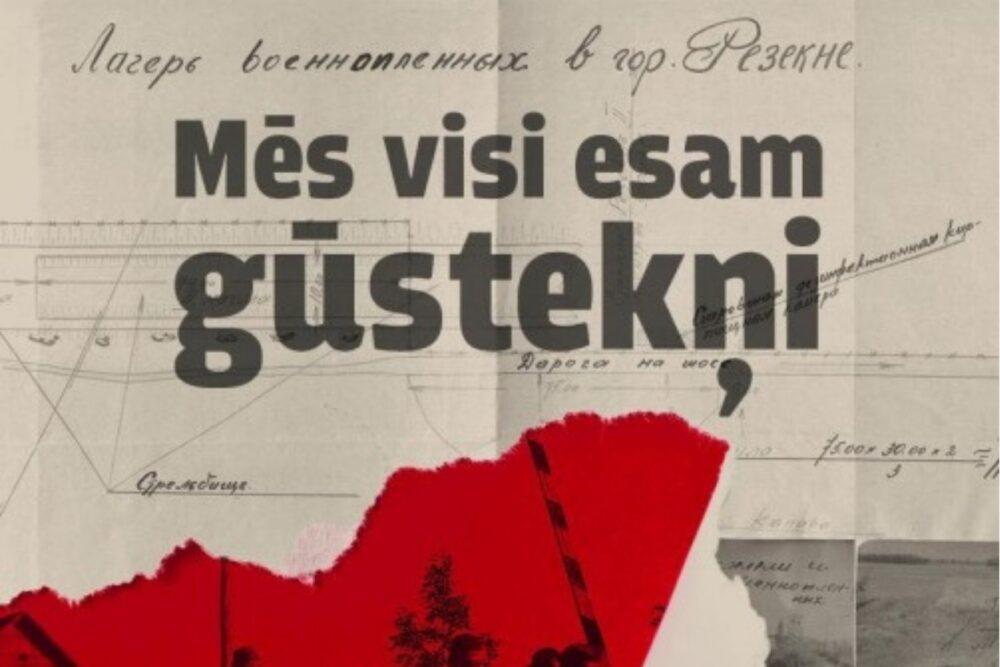 """Izdūta Rēzeknis giustekņu nūmetnē """"Stalag 347"""" īslūdzeituo dīnysgruomota"""