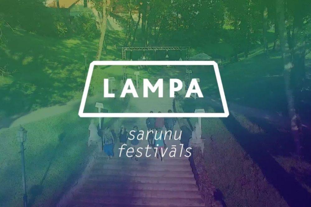 """Sarunu festivalā """"Lampa"""" sprīss par raksteišonu latgaliski i raksteituoju īspiejom publicētīs"""