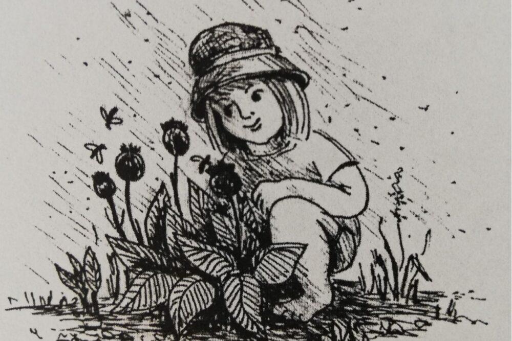 """Apsaverama Maijis Podniekys ilustraceju žurnalam """"Katōļu Dzeive"""" izstuode"""