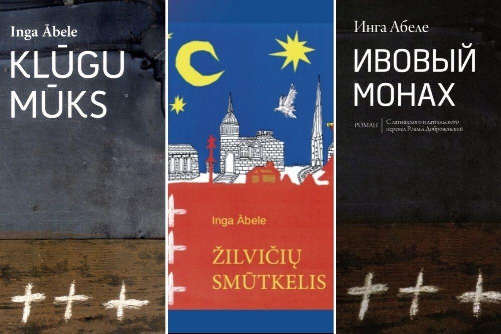 "Ingys Ābelis romana ""Klūgu mūks"" tulkuojumi"