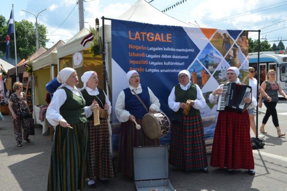 "Latgola puorstuovāta storptautyskajā muokslys festivalā ""Slavjankij Bazar 2017"" Vitebskā"
